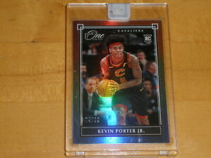 2019-20 Panini One on One Uncirculated Base Card 136 Kevin Porter Jr 74/99 RC