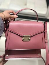 mk Whitney rose md th satchel leather Handbag