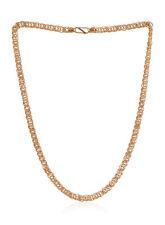 Stilvolle Dubai Herren Link Kette Halskette In Feinen Hallmark 22 Karat Gelbgold