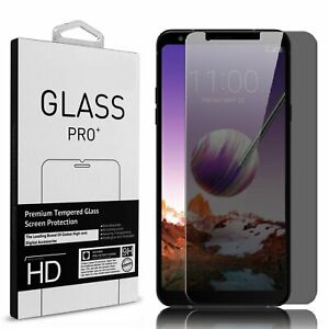 Privacy Anti-Spy Premium Tempered Glass Screen Protector For LG Stylo 6/5/4 Plus