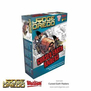 CURSED EARTH RAIDERS - JUDGE DREDD MINIATURES GAME - WARLORD GAMES