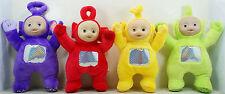 """10"""" Teletubbies Laa Laa Po Tinky Winky Dipsy Plush Toy Doll Set 4pc"""