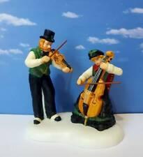 DEPT 56 Dickens Village MAKING WONDERFUL MUSIC!     Swift's, Violins