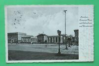 OBB) Bayern AK München 1936 Braunes Haus Ehrentempel Platz Architektur