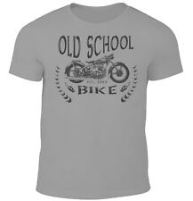 AWO Sport Herren T-Shirt Biker Oldtimer Touren Motorrad Oldschool Custom Wear
