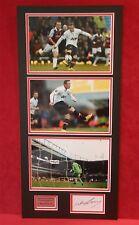 Wayne Rooney 3 photo montage wonder goal v West Ham signed autograph mounted