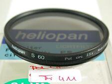 Heliopan Filtres polarisants Filtre Lens Polarizing Polarizer Circular 60 mm 60 e60 fi411 (5