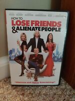 How to Lose Friends & Alienate People DVD Simon Pegg, Kirsten Dunst Jeff Bridges