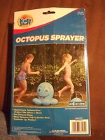 RARE Kids Stuff Octopus Sprayer Outdoor Hose Pipe attached Water Fun Ages 4+ NIB