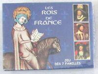 Jeu des 7 Familles Les Rois de France / Éditions Dusserre / Neuf sous blister