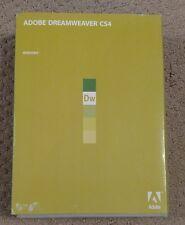 Adobe Dreamweaver CS4 - NO SERIAL NUMBER DISCS ONLY