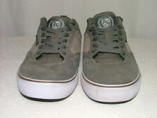 Air Speed Less Sleep More Skate Green Suede Tan Canvas Athletic Shoes Size 7