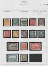 CANADA - Used Stamps S/C 162 thru 176, 1930-31- George V,  F/VF *Free shipping*