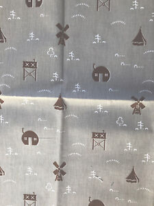 St Judes fabric, By Old Town , Native Heath, 100% Cotton , 137cm W, 55cm Length.