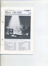 Film-Dienst (1979) Nr. 26 Die Patriotin Bruce Lee Rockers Der Komantsche
