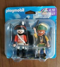 Playmobil 4127 Pirate and red-coated soldier new blister pack