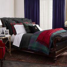 Ralph Lauren KENSINGTON Norfolk Estate Plaid 3P Queen Duvet Cover shams Set