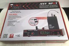 Galaxy Audio AS900 N1 Wireless Personal Monitor System Freq 514.400 MHZ W/ EB4