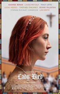 "Lady Bird movie poster  - 11"" x 17""  -  Saoirse Ronan"