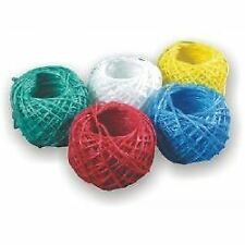 Colour String Ball 60m Household Home Office Twine Rope Garden Art Craft Wrap