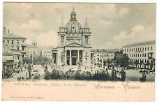 Cathedral of St. Aleksander, Warsaw/Warszawa, Poland, 1900s