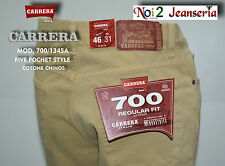 Pantalone Carrera 7001345a 5 tasche Regular Fit gabardina Zip Front Vita Media 56 Grigio Antracite