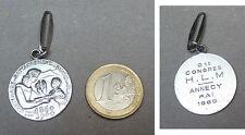 Médaille pendentif Savoie Annecy 1960 signée JOLY medal