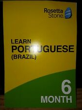 Rosetta Stone LEARN PORTUGUESE (Brazil) 6 Month Subscription