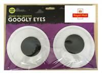 Big Extra Large Googly Eyes Glow in the Dark Self Adhesive Halloween Craft Fun