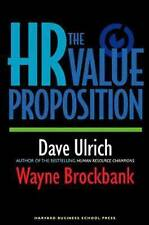 USED (GD) The HR Value Proposition by David Ulrich