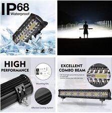 1x 20 Inch 140LED 420w 6000K 42000LM Flood Spot Combo LED Light Bar For Jeep,SUV