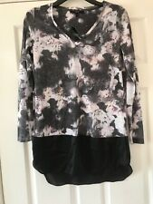 New Next Print Tunic  Top Size  10   bnwt   £22