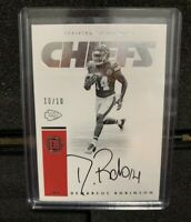 2016 Panini Encased Demarcus Robinson RC Signatures #10/10 Rare Last one Awesome