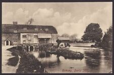 Romsey, Hants. Burts Mill aka Sadler's Mill on the River Test. Vintage Frith PC