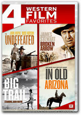 The Undefeated / The Big Trail/Broken Arrow / In Old Arizona DVD New John Wayne