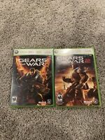 Gears Of War And Gears Of War 2 Xbox 360 Lot Complete