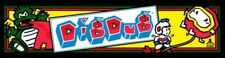 "Dig Dug Arcade Marquee 23.6""x6.5"""