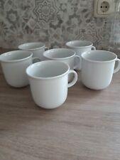 Thomas Trend Weiss Kaffee Becher Tasse Henkel 0,28 ltr. 5+1 neuwertig