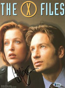 Gillian Anderson The X-Files Autographed Photo Beckett Certified Authentic COA