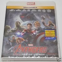 New Avengers Age of Ultron Limited Edition Blu-ray DVD MovieNEX  Japan English