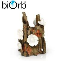 Biorb Flowers on Wood Ornament 16cm Aquarium Fish Tank Decoration 46142