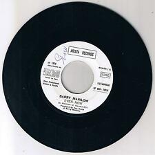 """BARRY MANILOW-SAMANTHA SANG""""EVEN NOW/EMOTIONS""""   7"""" JB"""