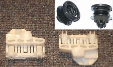 AUdi A4 (B5) Window Regulator Repair Clips FRONT LEFT PAIR with 2 new fastener