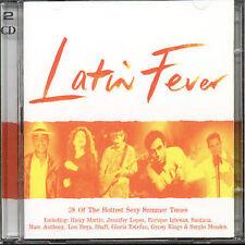 Latin Fever 2 CD Set 60s 70s 80s 90s Best Latin Hits! (Digitally Remastered)