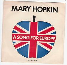 """MARY HOPKIN """"KNOCK KNOCK WHO'S THERE?"""" 7"""" Portugal Apple Beatles"""