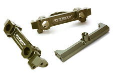 C26751GUN Integy Brace & F/R 43/40mm Bumper Mount for Axial SCX-10 Crawler