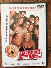 AMERICAN PIE ~ 1999 The First / ORIGINAL adolescente Clásica ESPAÑOL DVD