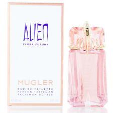 Alien Flora Futura for Women by Thierry Mugler Non Refill EDT spray 2.0 Oz- NIB