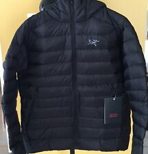 Men's Brand New Arc'teryx Cerium LT Black Hoody - Size S