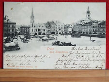 Fotokarte - Gruss aus Trautenau / Trutnov - gel 1899 - Sudetenland